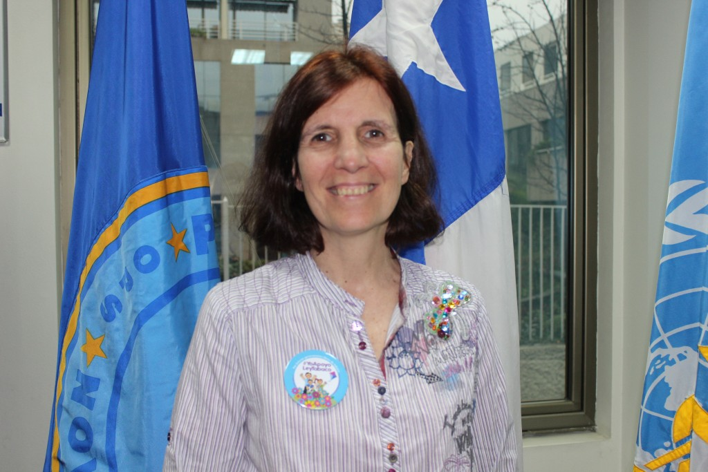 Dra. Paloma Cuchi, representante de la Organización Panamericana de Salud (OPS) en Chile.