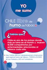 Volante Yo me sumo a un Chile libre de humo
